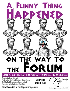A FunnyThing Happened on the way to the Forum